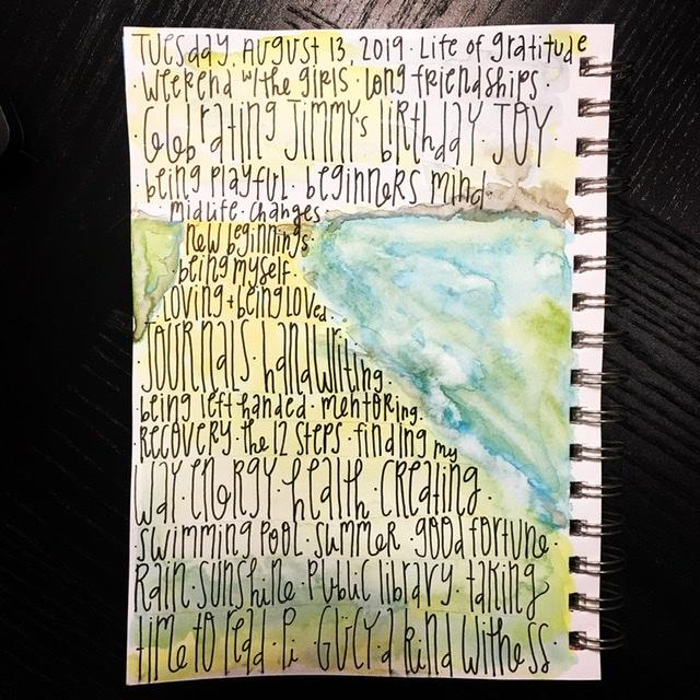 Watercolor list